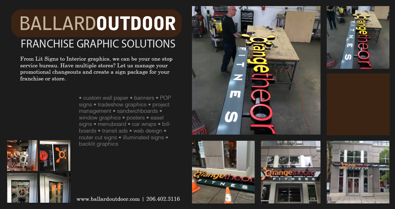 Have Multiple Stores? Let us design a budget friendly sign package to update your locations!